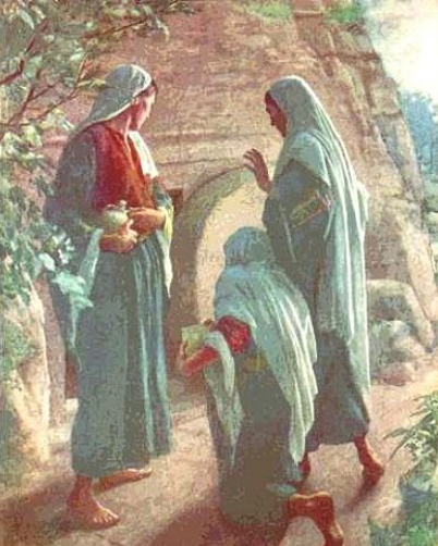 Mujeres sepulcro