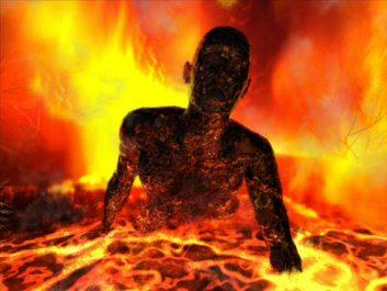 Esa expresión del fuego que nunca se apaga, y el humo de su tormento que sube por los siglos de los siglos lo que significa es una DESTRUCCIÓN ABSOLUTA Y ETERNA